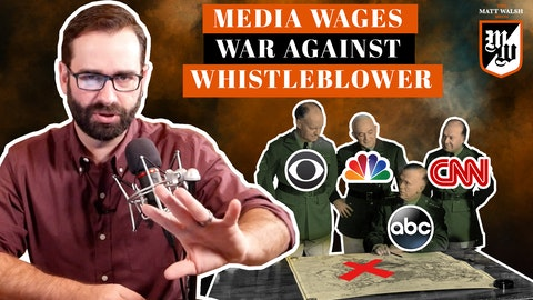 Ep. 366 - Media Wages War Against Whistleblower
