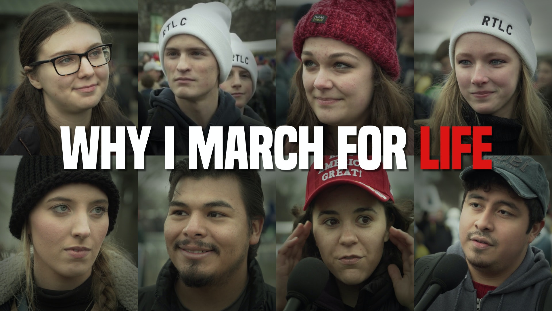 The INCREDIBLE true stories from March for Life 2020