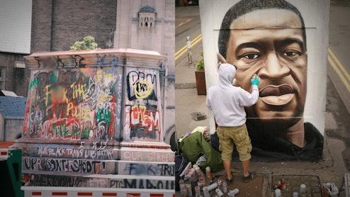 Ep. 518 - Tearing Down Statues Of Heroes, Putting Up Murals Of George Floyd