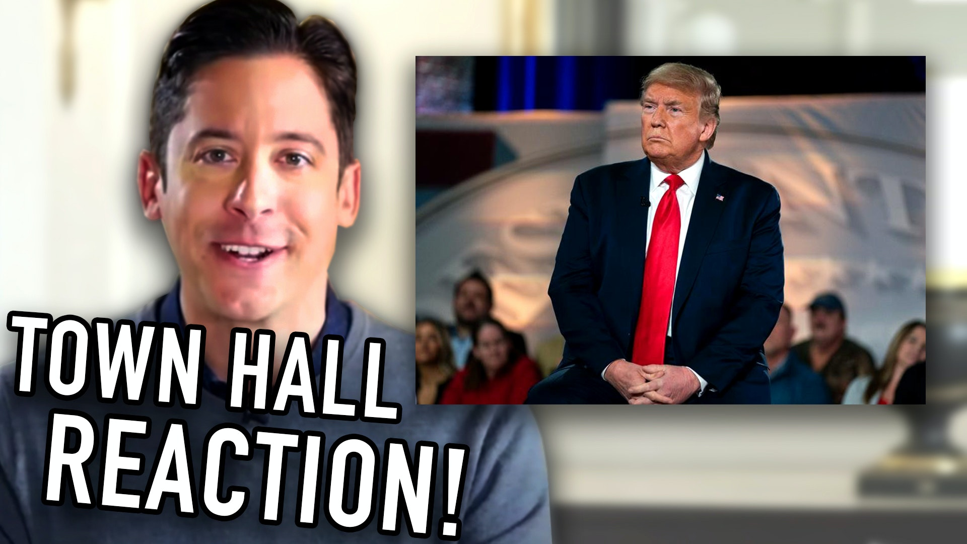 #133 President Trump's Live Town Hall Reaction w/Michael Knowles!