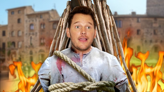Ep. 587 - Leftist Witch Hunters Burn Chris Pratt At The Stake