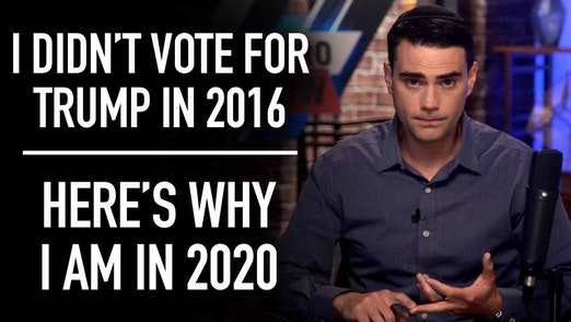 I didn't vote for Trump in 2016. I am in 2020 - here's why.