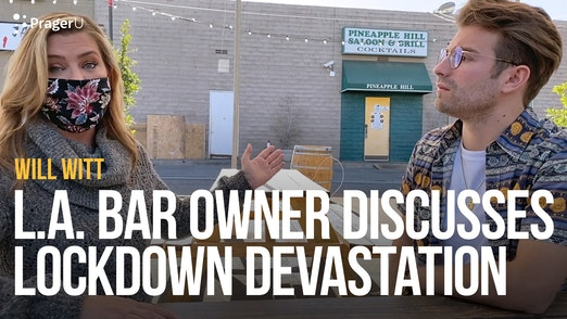 Will Witt Interviews Viral Los Angeles Restaurant Owner About Impact of Lockdowns