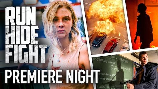 Backstage Premiere: Run Hide Fight