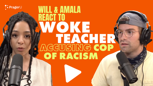 Will and Amala React to Woke Teacher Accusing Cop of Racism