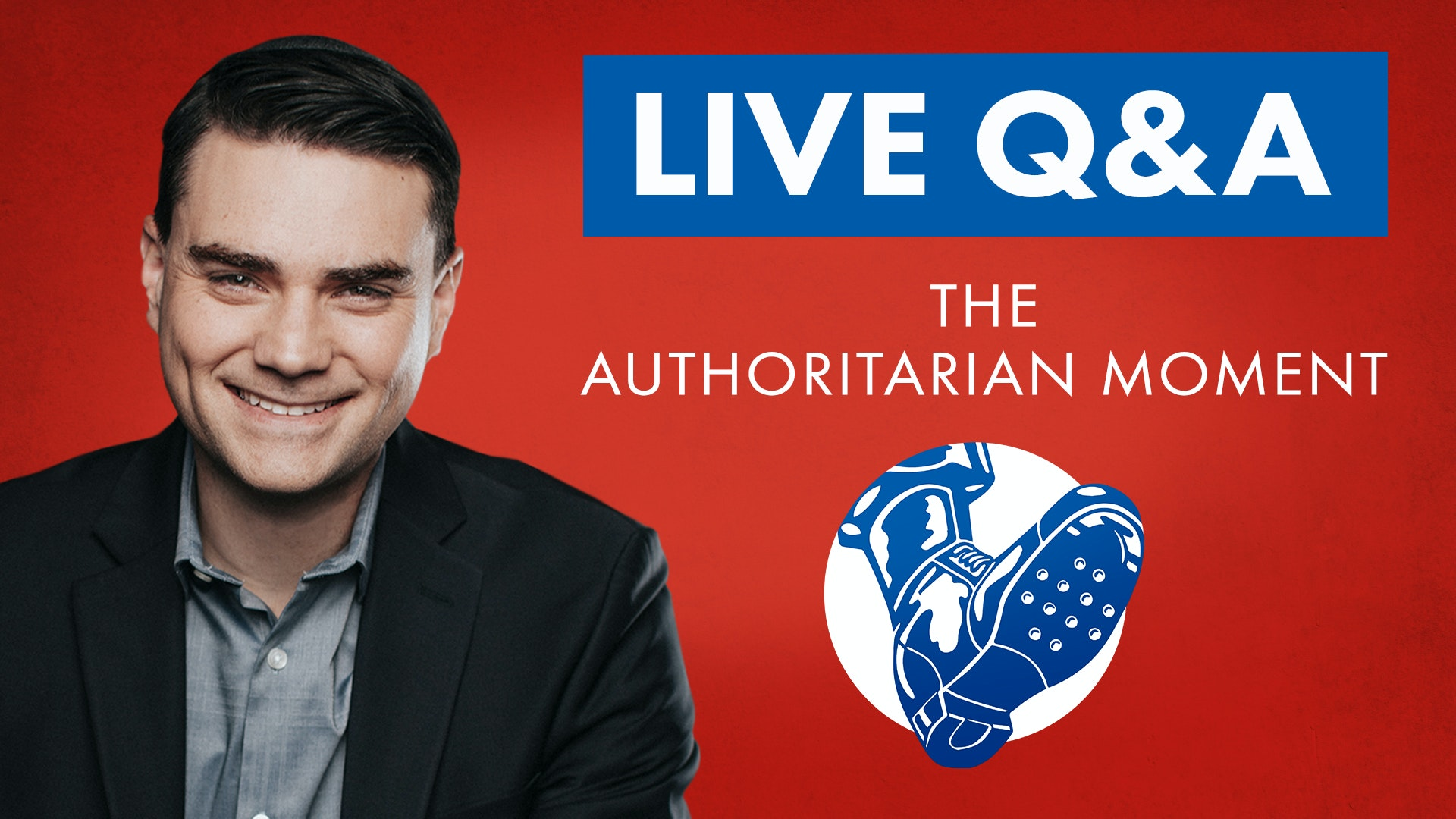 Ben Shapiro Book Signing Live Q & A | The Authoritarian Moment