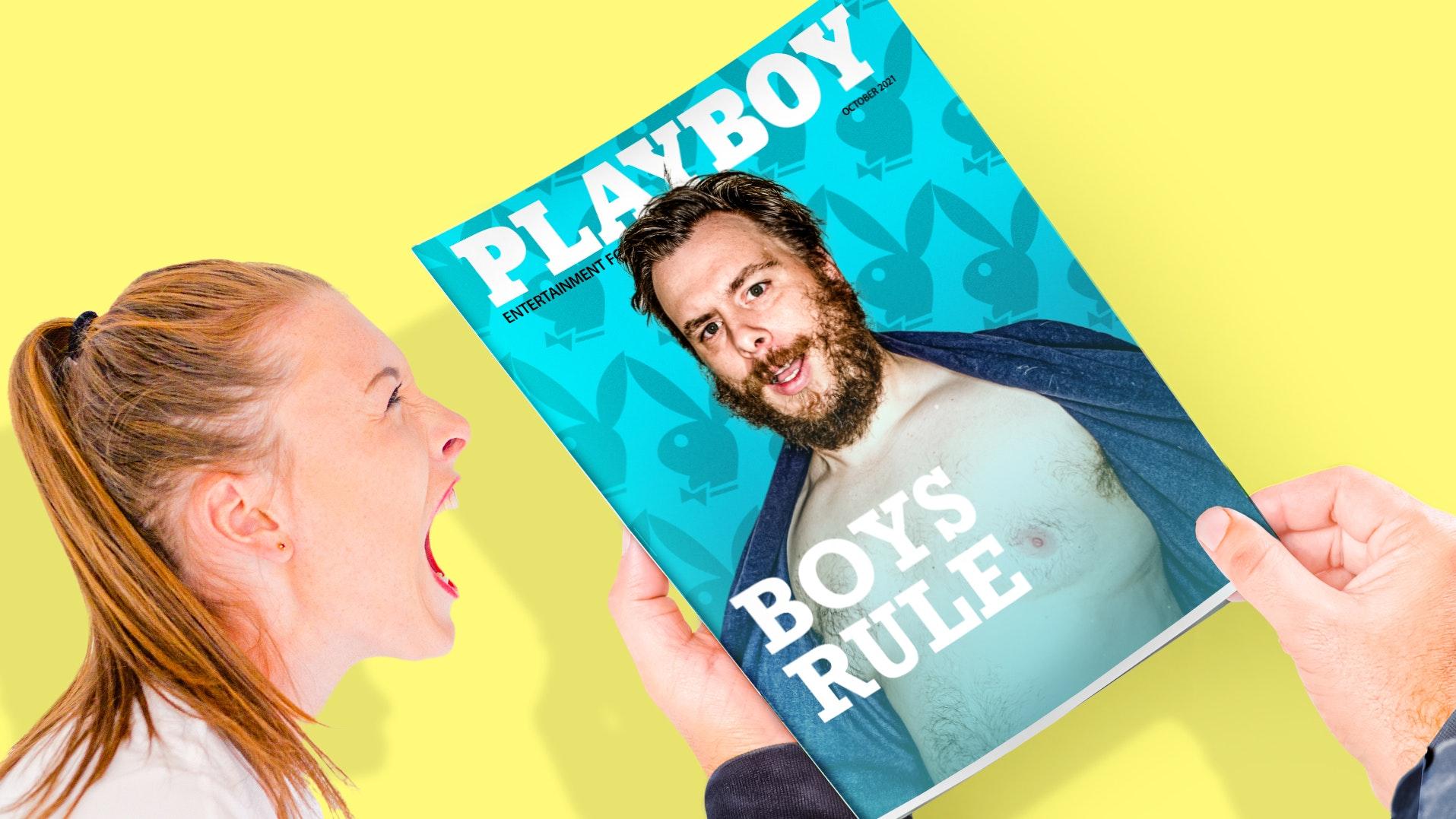 Ep. 857 -Playboy Thinks Men AreBetter Than Women